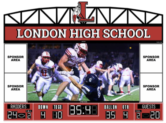 London Board of Education Approves Scoreboard Project to Enhance Red Raider Game Day Experience