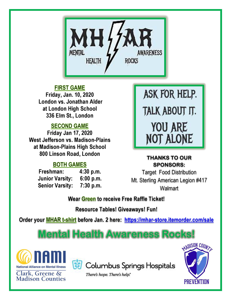 Mental Health Awareness Rocks week is here!