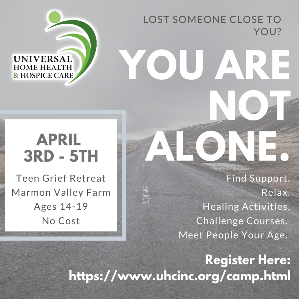 Grief Camp Flyer