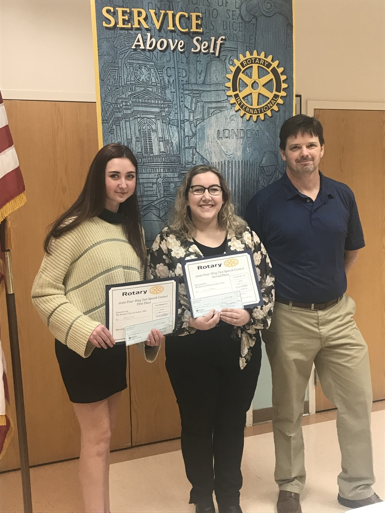 London Rotary Club 4 Way Test speech contest winners