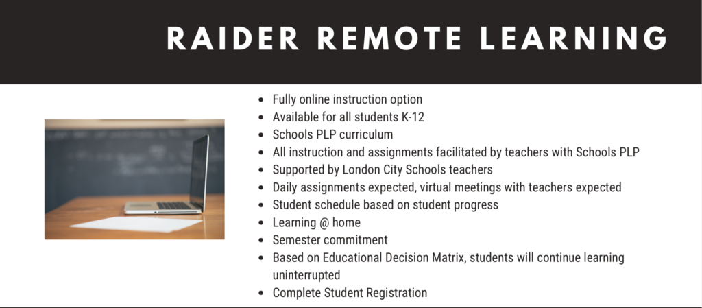 Raider Remote Learning
